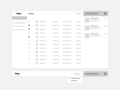 Wireframes are sexy keyboard brand icon iconography typography form logo shyp ux ui style guide
