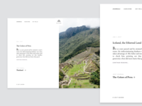New journal on Saison: Peru