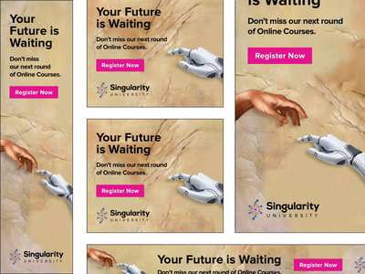 Display Campaign for Singularity University