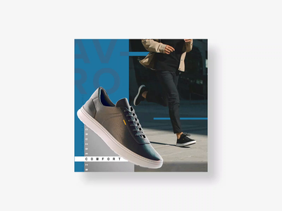 Social Ads for Casca facebook ads social ads static ads lightweight motion carousel facebook instagram ads advertising banner ads brand branding social proof earned media typography swiss style shoe sneakers photography fashion
