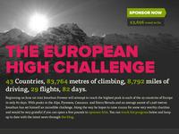 European High Challenge header