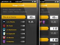 Tour de France app - live coverage