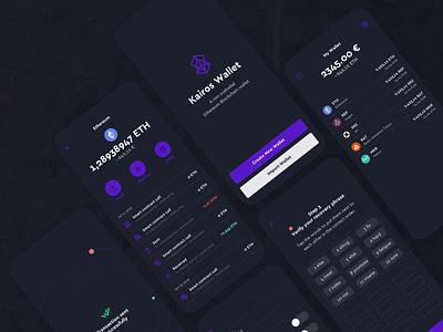 Kairos Wallet open source ux ethereum wallet product design ui blockchain crypto