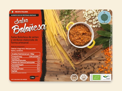 Naturee Bolonesa creative direction organic food vegan photography food label packaging package design