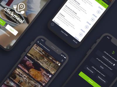 Clickmeal IOS App