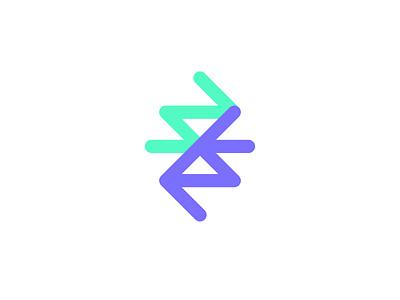Barterlly Logo Mark Color crypto logo mark logo design identity design branding