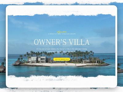 Cheval Blanc 2 graphicdesign website hotel travel luxury microsite landingpage