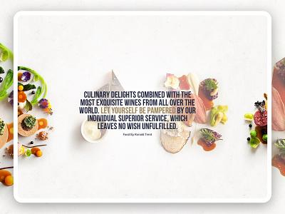 Chalet N travel hotel microsite landing page food luxury web  design website
