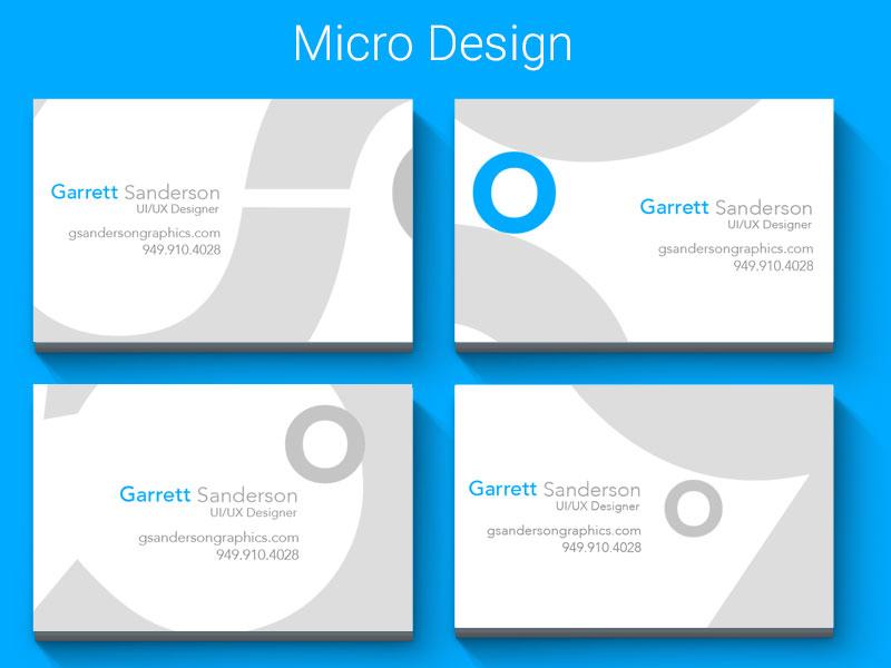 Micro Macro Dribble By Garrett Sanderson Dribbble