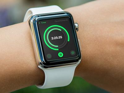 Apple Watch Dribble