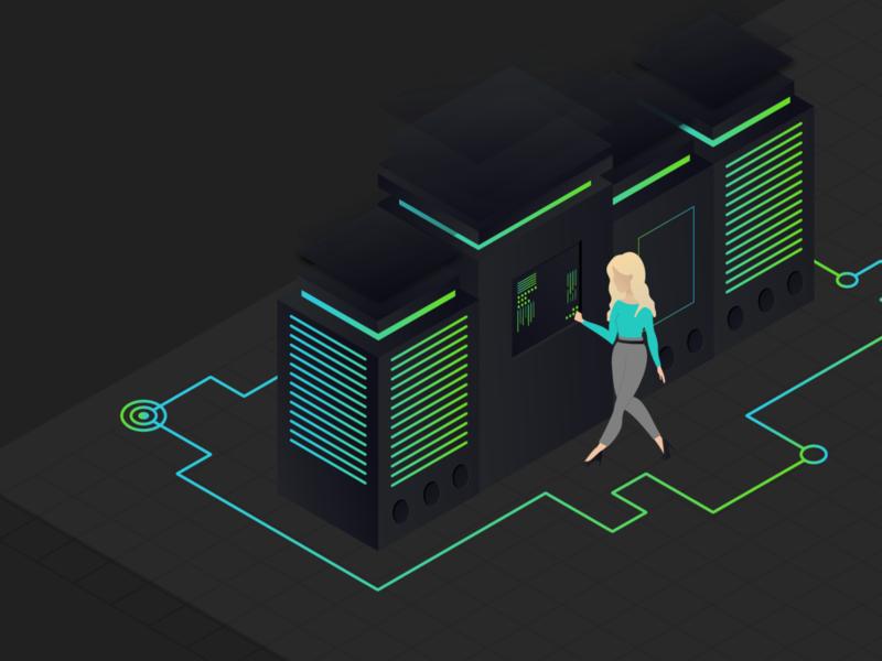 Illustration: Server