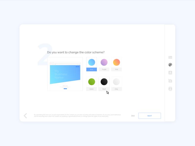 Creative Brief Webform: Choose a Color