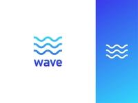Wave logo design