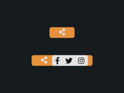 DailyUI 010 - Social share