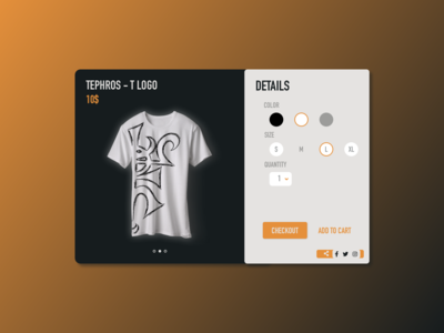 DailyUI 012 - eCommerce item