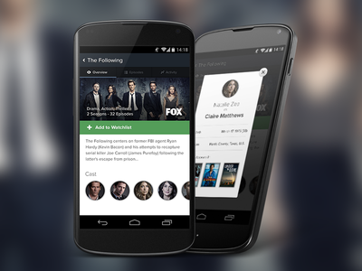 TV - Show Overview tv android tv show app