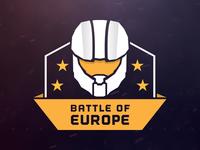 Battle of Europe - Logo