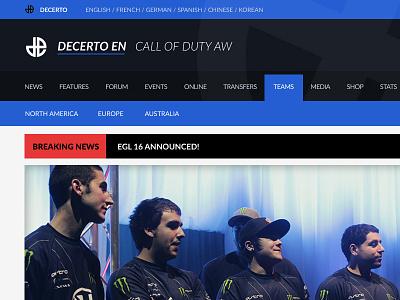Dexerto.com dexerto gaming esports blue web