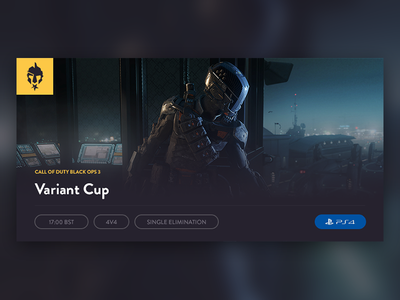 Variant Cup cup tournament call of duty ps4 esports