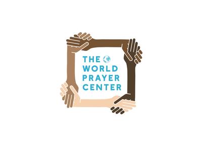 The World Prayer Center Logo Design lettering flat website typography minimal logo illustrator illustration design branding