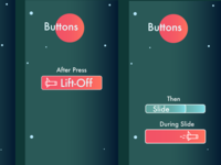 Button Mock up for App