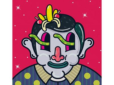 Banana Boy character design illustration art characterdesign