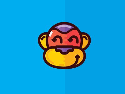 Monkey! pic symbol monkey illustration