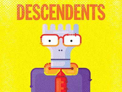 The Descendents  for fun punk illustration