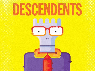 The Descendents  for fun punk illustration