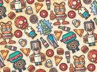 Cartoon Fooders