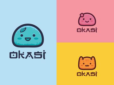 Okasi cute mark logo