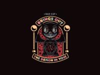 Bad Cat satan design kit-cat characterdesign illustration character