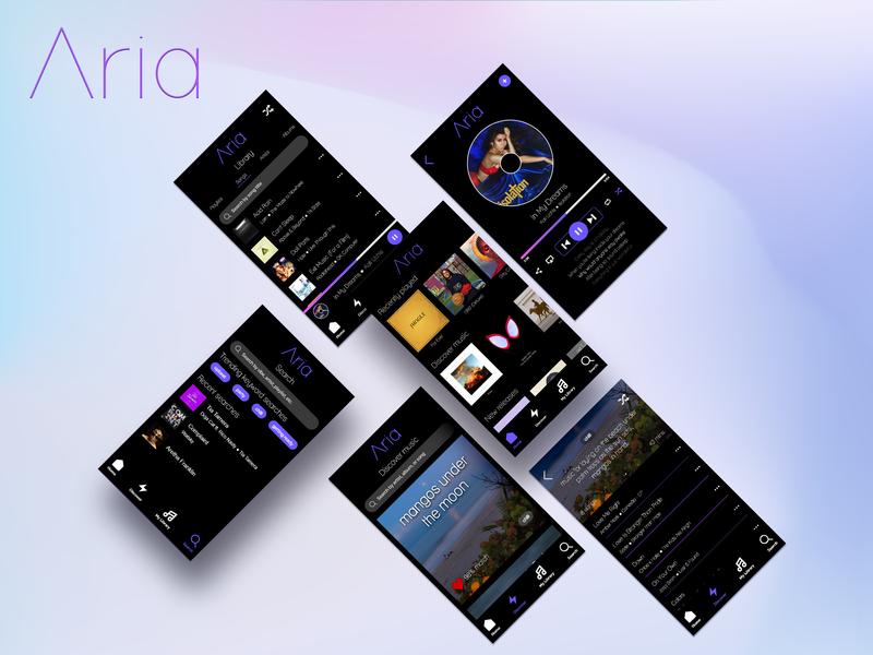 Aria Music App