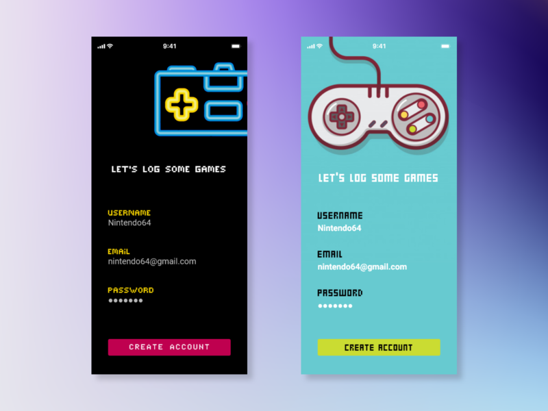 #DailyUI 001 - Sign Up