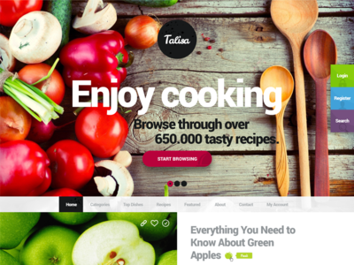 Talisa - Design for a Food Network