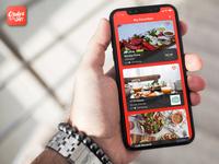 Order it- App Interface Design