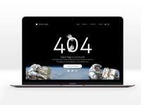 Daily UI- Day08 404 Page
