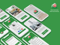 28Hse real estate mobile app redesign