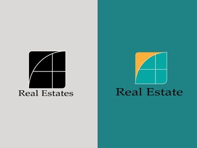 Real Estate (Abstract) abstract logo logotype logo design branding real estate logo logodesign logo