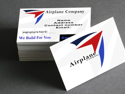 Mock up business card business cards