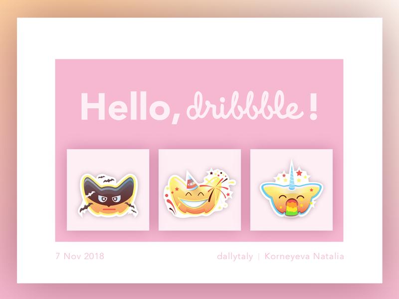 Kawaii Pink Emoji Series