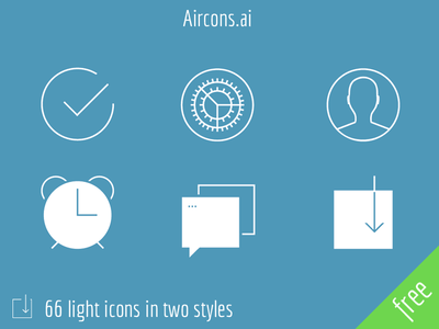 Aircons – 66 light icons aircons iphone tapbar light cool free freebie icon ios