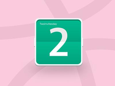 Thursday? Nope. Twoinvitesday! twoinvitesday member free yo givaway dribbble invitation invite