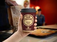 Sub Coffee cup