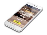 Auto Ideāls mobile webpage design & code