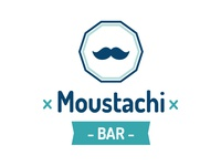 Moustachi BAR logo sketch