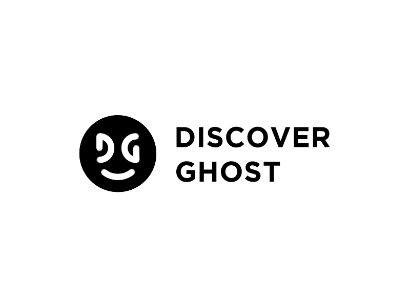Logo for DiscoverGhost.com logo