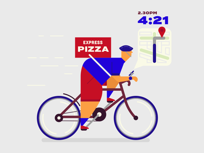 EXPRESS PIZZA - BIKE