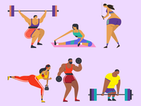 Shapes of workout SET
