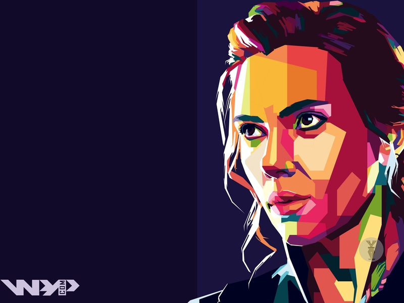 Avengers End Game Black Widow Wpap By Yafi Veda